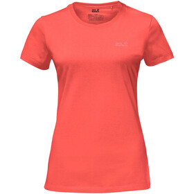 Jack Wolfskin Essential - T-shirt manches courtes Femme - rouge